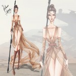 if star wars characters were fashion models 2
