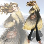 if star wars characters were fashion models 3
