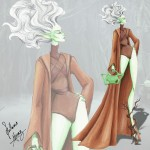 if star wars characters were fashion models 4