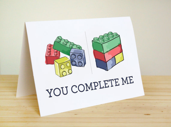 nerdy Valentine's Day card
