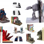 Cool Bookends For Your Inner Geek