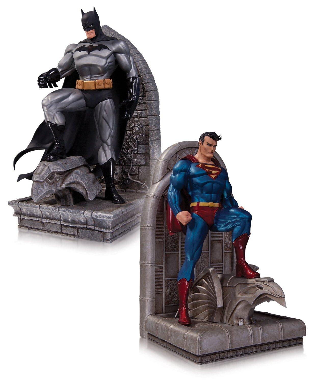 DC Collectibles DC Comics Superman and Batman Bookends