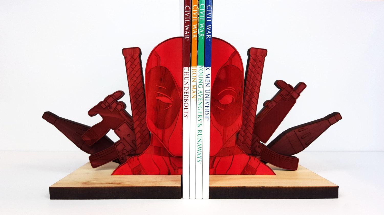 Deadpool Bookends