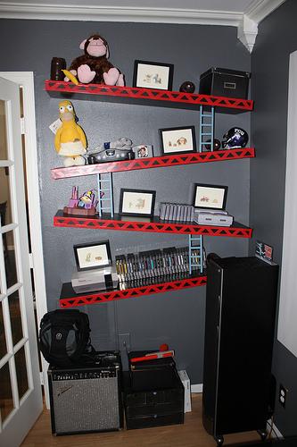 Donkey Kong iKEA Lack shelves