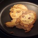 Elsa & Anna Pancakes