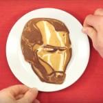 Iron Man pancake