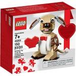 Lego Valentine's Day Dog