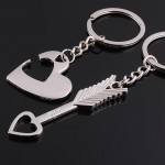 Lover His Her Keychain Keyring Couples