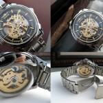 Mechanical Watch Automatic Steampunk watch