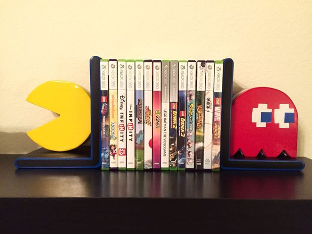 Pac-man bookends