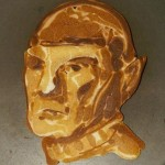 Star Trek Spock pancakes