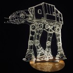 Star Wars Empire Strikes Back At-At Lamp
