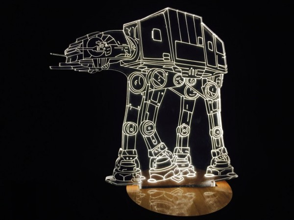 Star Wars Empire Strikes Back At-At Lamp