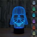 Star Wars Lamp Darth Vader 3D