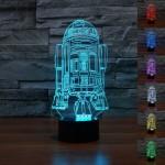 Star Wars R2-D2 3D lamp