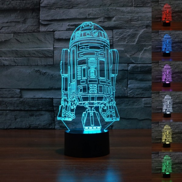 Star Wars R2-D2 3D lamp
