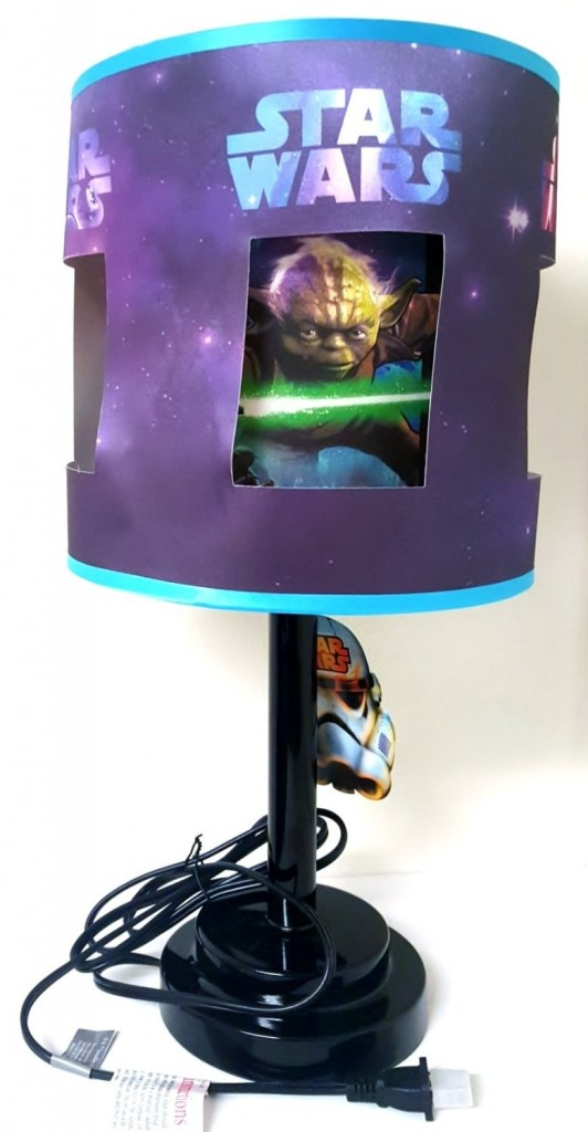 Star Wars Yoda Lamp