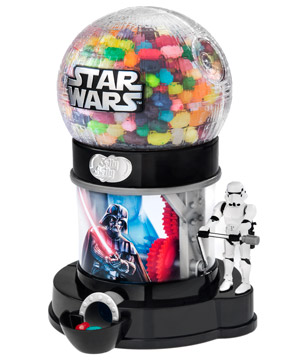 Star Wars-themed Jelly Belly dispenser.