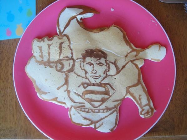Superman Pancake