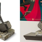 Thor Hammer Bookend
