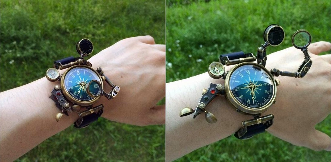 best Multi Function Steampunk Watch