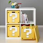 Super Mario Question Block Storage Box