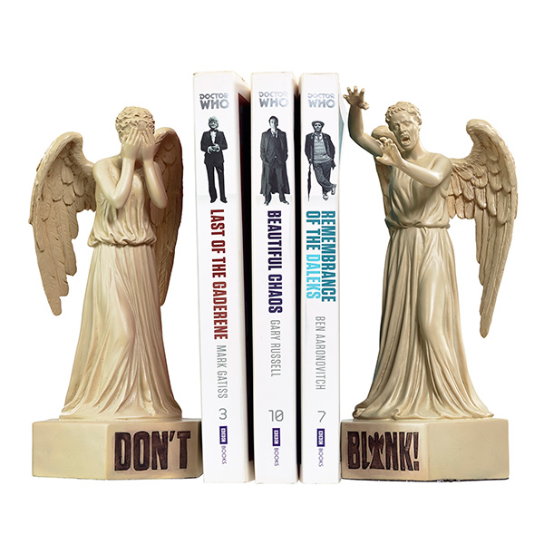 geeky Doctor Who Bookends