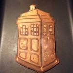 geeky TARDIS Pancake