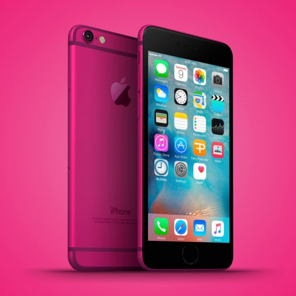 iPhone-5se-Pink-Phone