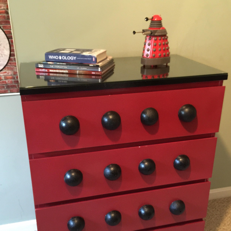Dr Who Dalek Dresser