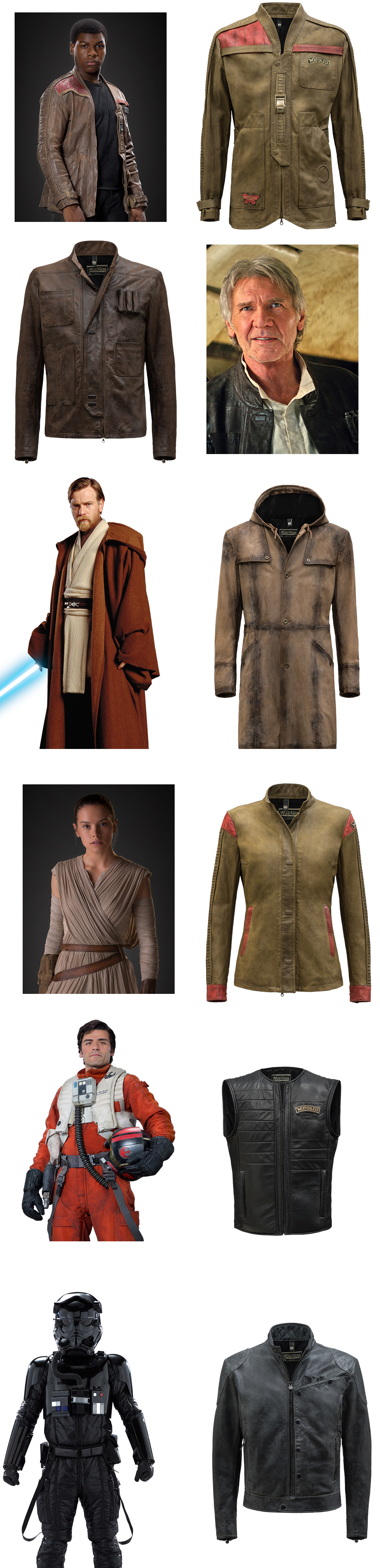 star wars inspired clothes jACKETs