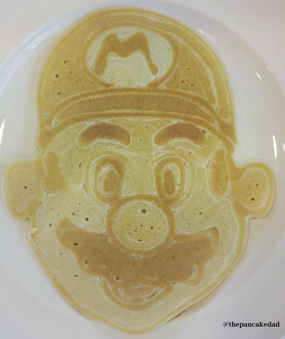 super mario pancake