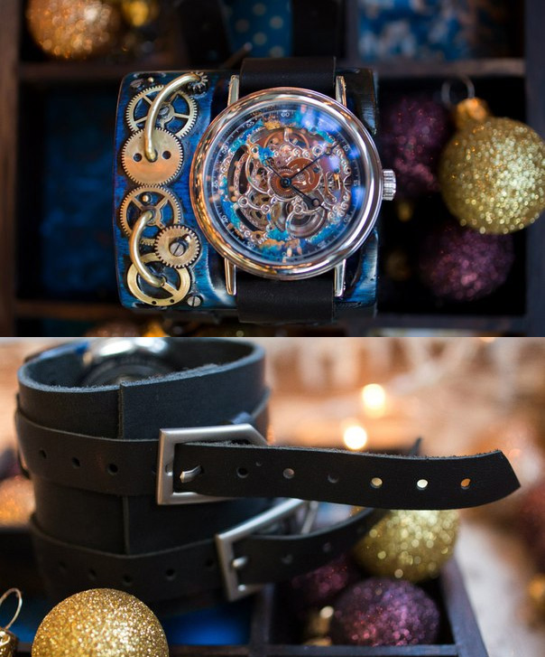 women Wristwatch steampunk