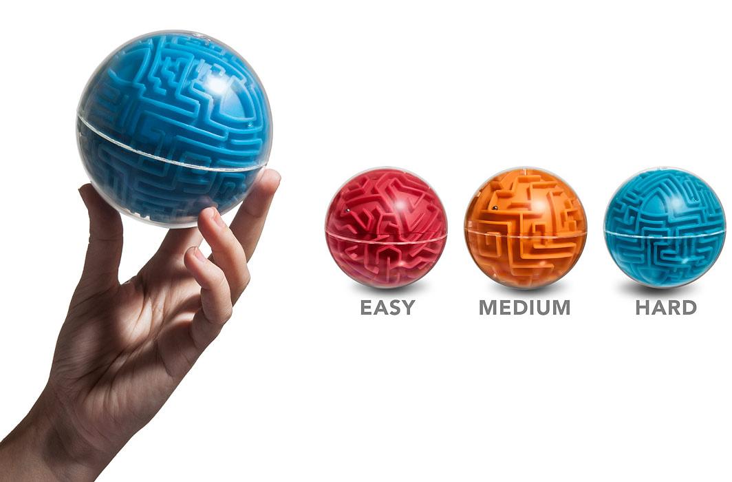 Alternative Rubiks CubeA-Maze-Ball Maze Game