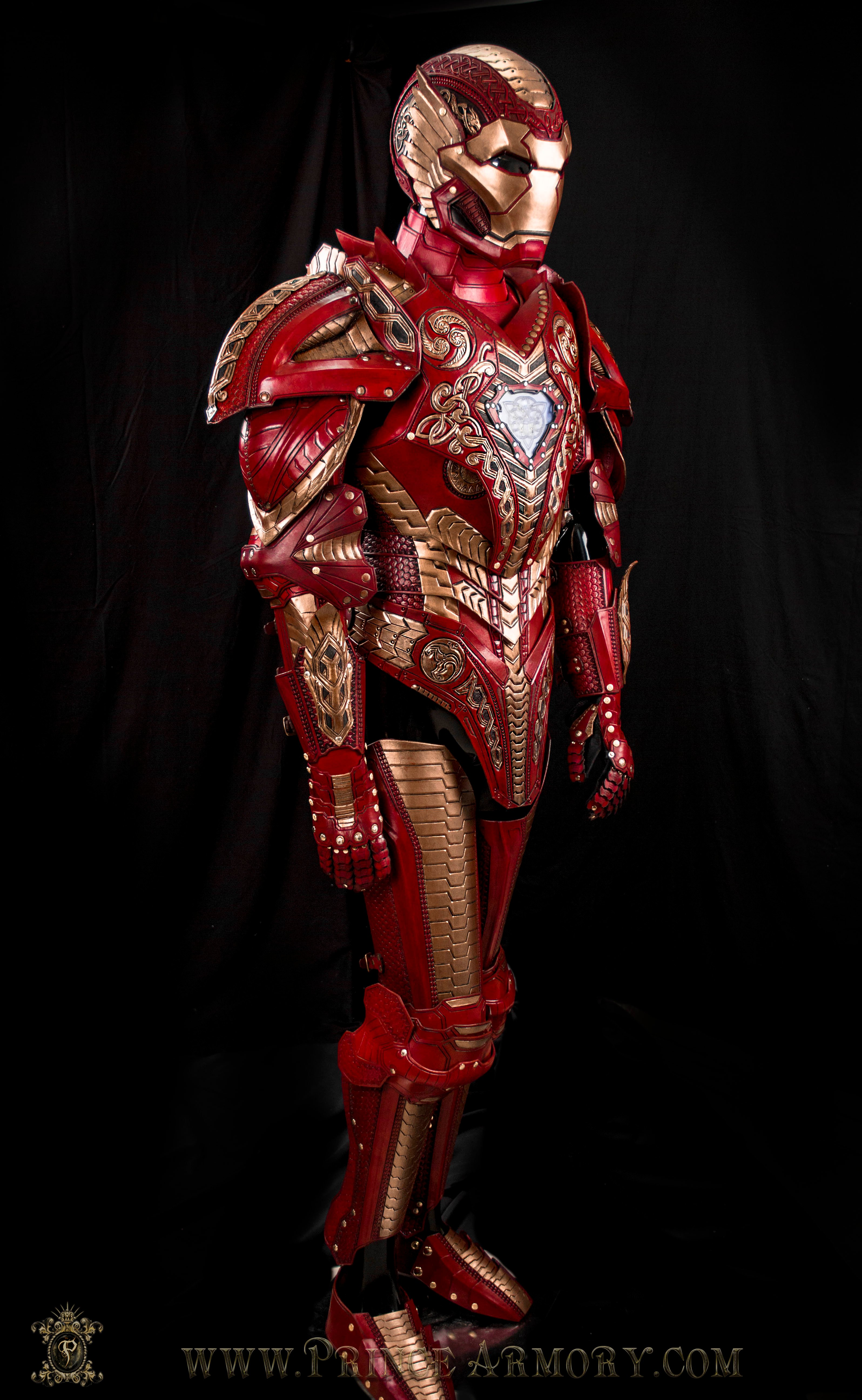 Asgardian Iron Man Completed Full Armor