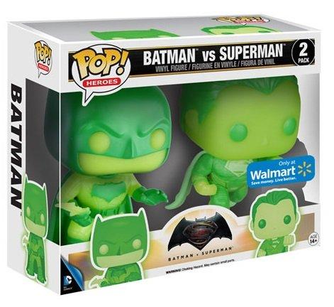 Batman vs Superman Glow in the Dark