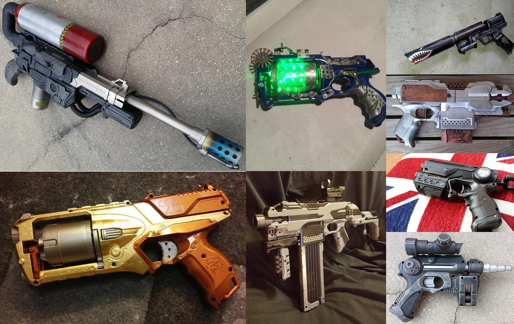 18 Best Nerf Guns Mods Walyou