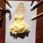 Butter dress