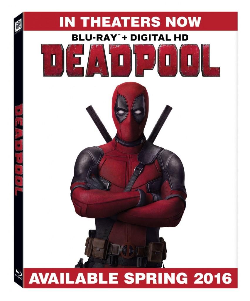 Deadpool Blu-ray Movie