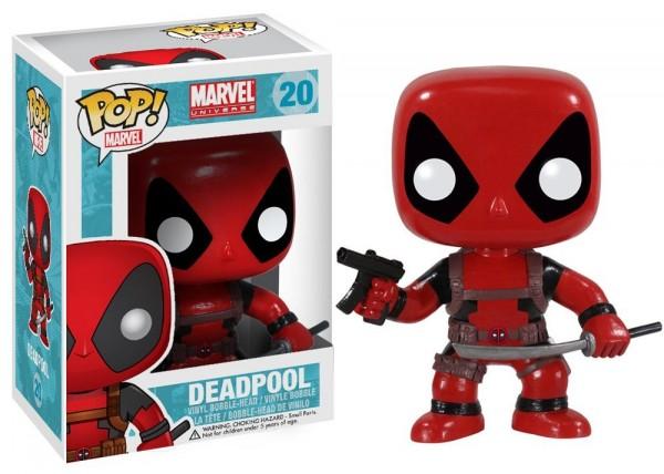 Deadpool Funko POP Vynil Bobble-head