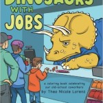 Dinosaurs With Jobs coloring book