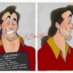 Disney-Villain-gaston-beauty-and-the-beast-mugshot-j-shari-ewing