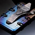 Flame Treated EOS Titanium 2.0 Wallet 01
