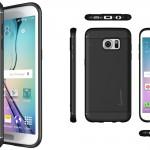 Galaxy S7 Edge Case Slim Shock Absorbing TPU Rubber