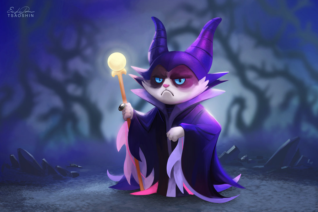 If Grumpy Cat Was The Star in Disney Movies 1