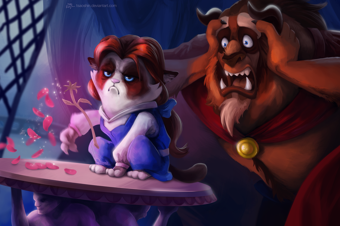 If Grumpy Cat Was The Star in Disney Movies 3