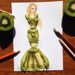 Kiwi dress runway