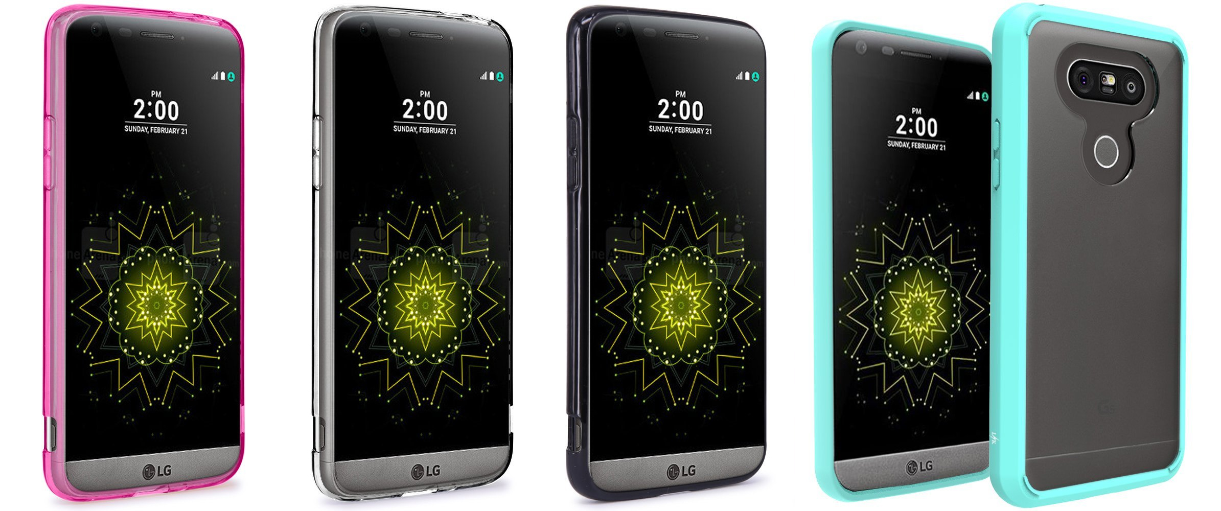 LG G5  Shock Absorbing Ultra Slim Bumper 2016