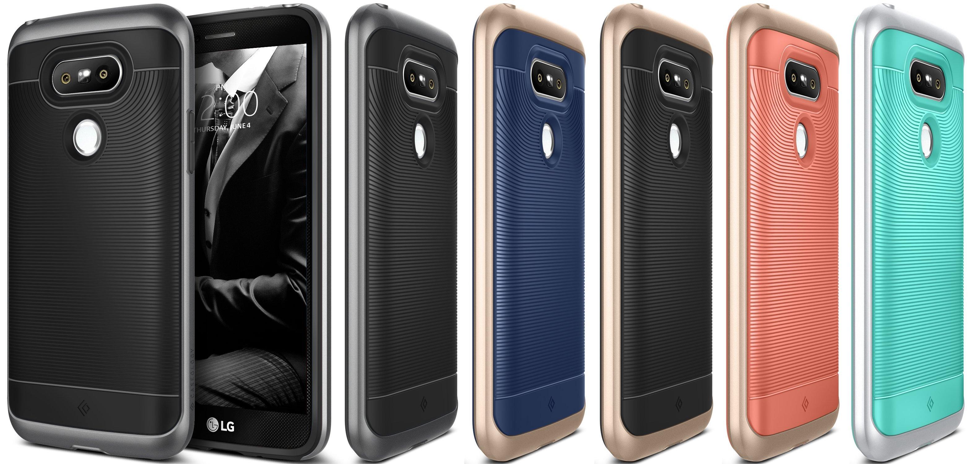 LG G5 Textured Grip Cover Shock Proof .jpg