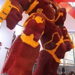Life-Size LEGO Hulk Buster 1